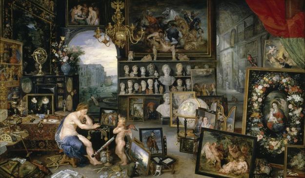 Alegoría de la vista, de Jan Brueghel el Viejo ii